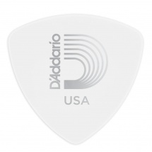 D\'addario And Co Mediators Celluloid Classic Large, Larges Blanc 1mm