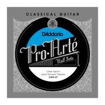D\'addario And Co Cnh-3t Pro-arte Clear Nylon Jeu De 3 Cordes Aigues Pour Guitare Classique -tension Forte