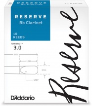 D\'addario Woodwinds Anches Reserve Clarinette Si Bemol Force 3.0 Pack De 10