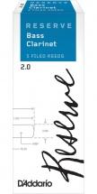 D\'addario - Rico Reserve Classic 2 - Clarinette Basse