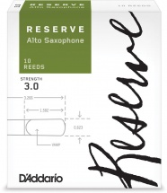 D\'addario Woodwinds Anches Reserve Saxophone Alto Force 3.0 Pack De 10