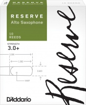 D\'addario Woodwinds Anches Reserve Saxophone Alto Force 3.0+ Pack De 10