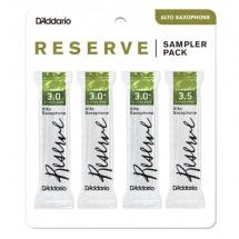 D\'addario - Rico Drs-j30 - Sampler Pack Anches Saxophone Alto Reserve, 3/3+/3,5