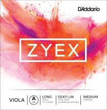 D\'addario Zyex Violon Alto Corde De La Long Scale Medium/file