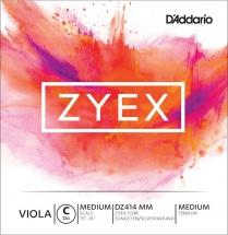 D\'addario And Co Corde Seule (do) Pour Alto Zyex «medium Scale» Tension Medium