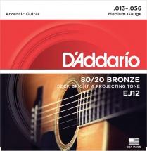 D\'addario Ej 12 Bronze 80/20medium 13 56