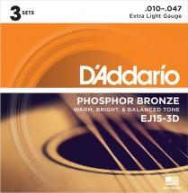 D\'addario And Co Pack De 3 Jeux Ej15 10 14 23 30 39 47