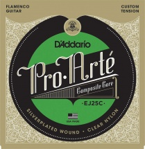 D\'addario Ej25c Clear Composite Flamenco