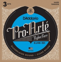D\'addario Pack De 3 Jeux Ej46 Pro Arte Tension Forte