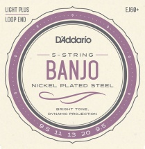 D\'addario And Co Ej60plus Cordes Pour Banjo