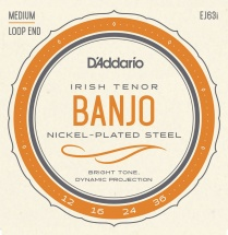 D\'addario And Co Ej63i Cordes Pour Banjo Light Tenor Irish 12-36