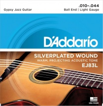 D\'addario Gypsy Jazz Ej83l Light 10 44 (a Boule)