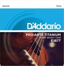 D\'addario And Co Ej87t Titanium Tenor 29-33-41-29