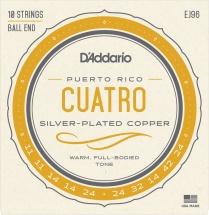 D\'addario And Co Cordes Pour Cuatro-puerto Rico Ej96 D\'addario