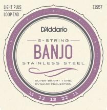 D\'addario And Co Ejs57 Cordes Pour Banjo
