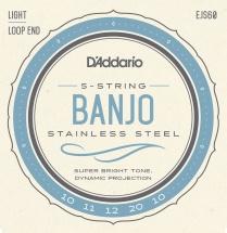D\'addario And Co Ejs60 Cordes Pour Banjo