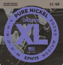 D\'addario Epn115 Pure Nickel 11-48