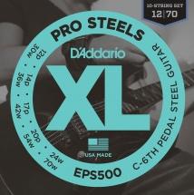 D\'addario And Co Eps500 Corde Pour Guitare Pedam Steel Do 6°