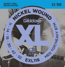 D\'addario Exl116 11-52 Nickel