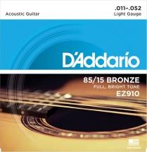 D\'addario Ez910 American Bronze 85/15 Light 11-52