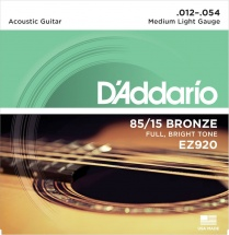 D\'addario Ez920 American Bronze 85/15 Medium Light 12-54