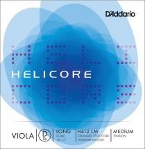 D\'addario Helicore Violon Alto Corde De Re Long Scale Medium/file