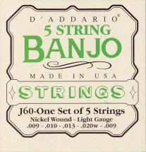 D\'addario Banjo Light J60