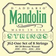 D\'addario Bronze 80/20 J62 Mandoline