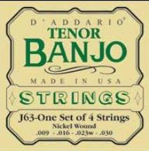 D\'addario Banjo Tenor J63