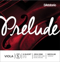 D\'addario And Co Corde Seule (do) Pour Alto Prelude « extra-short Scale » Tension Medium