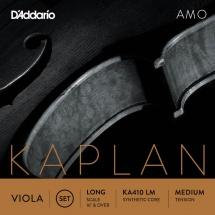 D\'addario And Co Jeu De Cordes Pour Alto Kaplan Amo Diapason Long Tension Medium