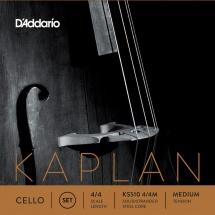 D\'addario Kaplan Violoncelle 4/4 Jeu De Cordes Medium