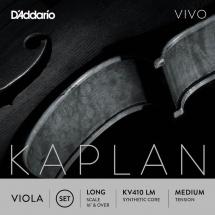 D\'addario And Co Jeu De Cordes Pour Alto Kaplan Vivo Diapason Long Tension Medium