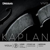 D\'addario And Co Corde Seule (re) Pour Alto Kaplan Vivo Diapason Long Tension Medium