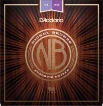 D\'addario And Co Nickel Bronze Custom Light, 11-52