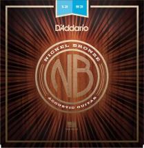 D\'addario And Co Nb1253 Nickel Bronze Light 12-53