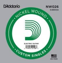 D\'addario And Co D\'addario Nw026 - File Rond Nickel 66mm