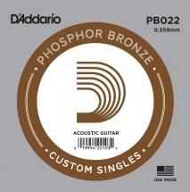 D\'addario And Co D\'addario Pb022 - Phosphor Bronze 0.56mm