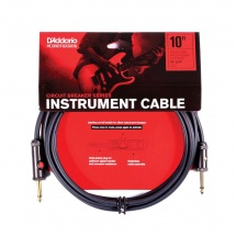 D\'addario And Co 10\' Circuit Breaker Instrument Cable With Latching Cut-off Switch Straight Plug