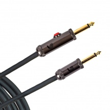 D\'addario And Co 20\' Circuit Breaker Instrument Cable With Latching Cut-off Switch Straight Plug