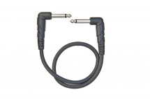 D\'addario And Co Classic Series Patch Cable Right-angle 1 Foot