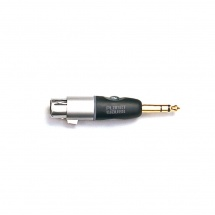 D\'addario And Co 1/4 Inch Male Balanced To Xlr Female Adapter