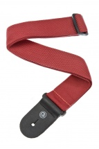 D\'addario And Co Polypropylene Guitar Strap Red