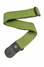 D\'addario And Co Polypropylene Guitar Strap Green