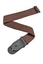 D\'addario And Co Polypropylene Guitar Strap Brown