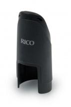 Rico Couvre-bec Pour Saxophone Alto (ligature Non-inverse) Synthtique Moul Noir
