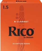 Rico Anches Clarinette Sib Force 1.5 Pack De 10