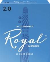Rico Anches De Clarinette Sib Rico Royal 2