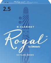 Rico Anches De Clarinette  Sib  Royal 2.5