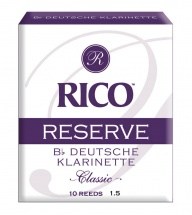 D\'addario - Rico Rcr1015d - Rico Anches Allemandes Rico Reserve Clarinette Sib, Force 1.5, Pack De 10